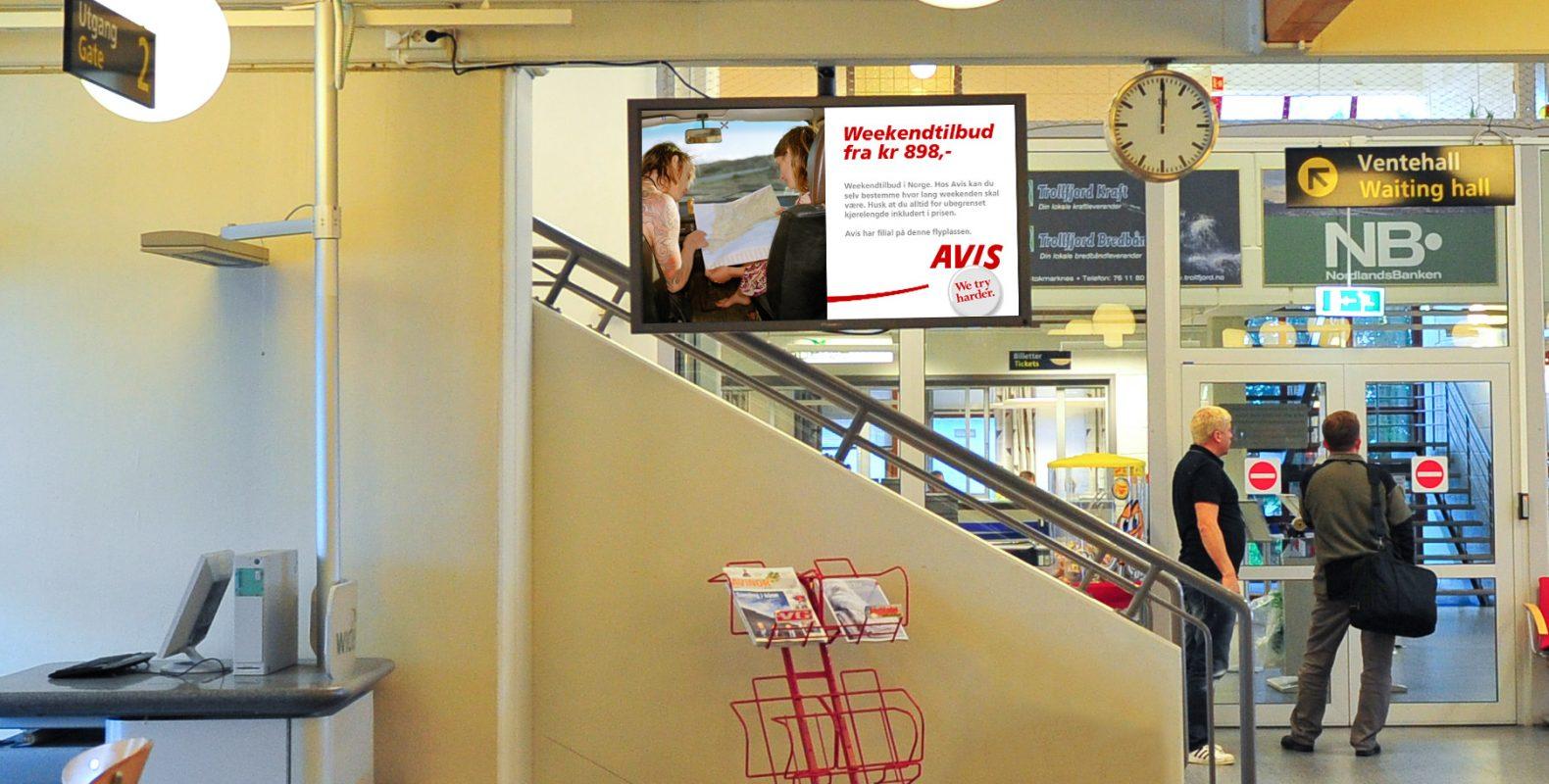 infoskjerm-flyplasser-skagen-displaysystem